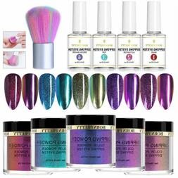BORN PRETTY 10pcs Glitter Nail Dipping Powder System Liquid