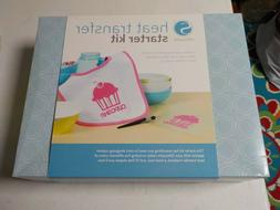 SILHOUETTE HEAT TRANSFER STARTER KIT 10 EXCLUSIVE SHAPES INS