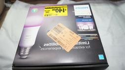 Philips Hue White and Color Ambiance  Bulb Starter Kit 47196