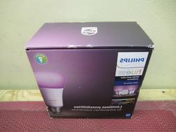 Philips Hue White and Color Ambiance E26 Bulb Starter Kit 54