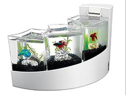 Aqueon Betta Falls Kit, White