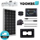 Renogy 100 Watt Mono Solar Panel RV Kit 100W 12V Battery Cha