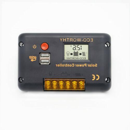 120W 240W Panel Kit Efficiency For Battery Charger Trailer Home