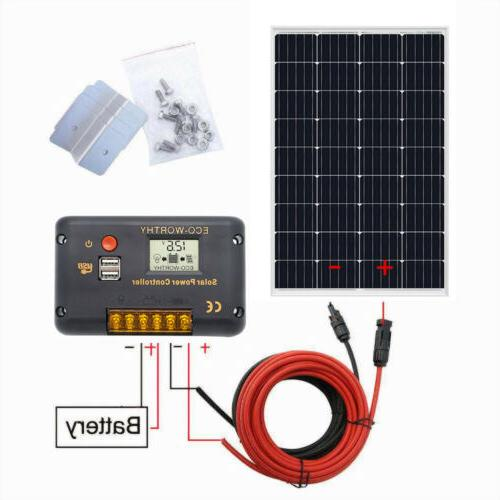 120W Panel Efficiency For Home