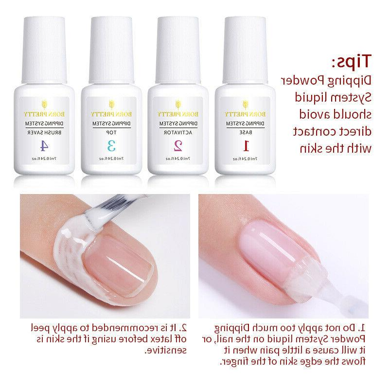 BORN PRETTY 10ml Nail Dipping Powder Nail UV Needed