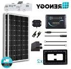 Renogy 200 Watt Mono Solar Panel RV Kit 200W 12V Battery Cha