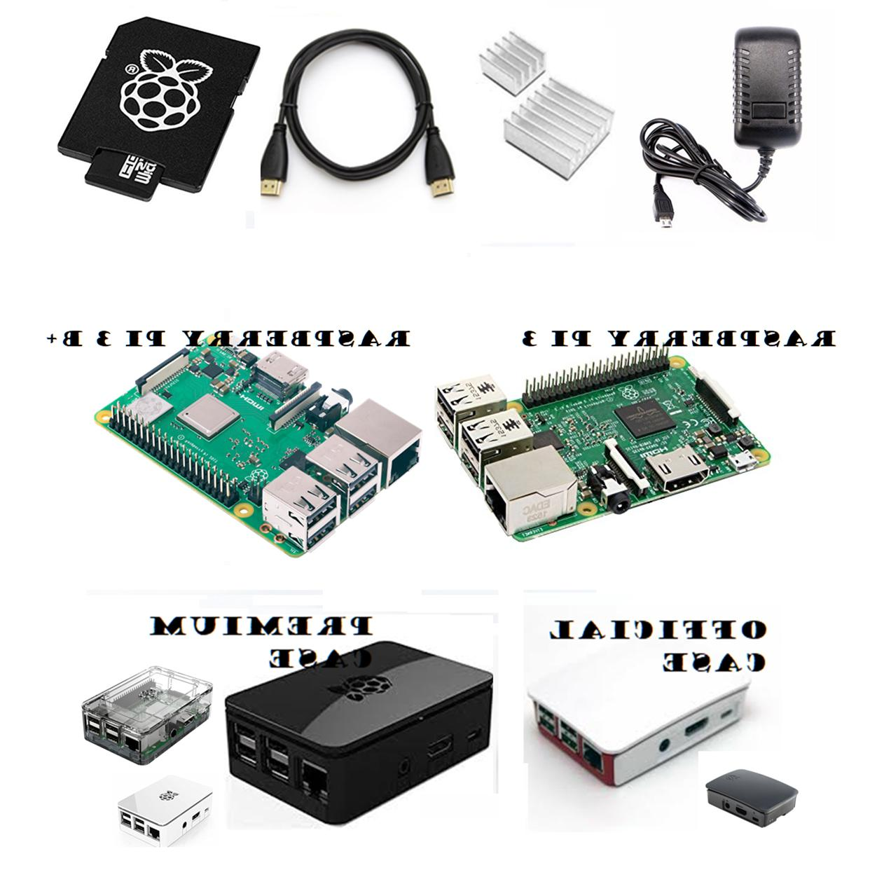 3 and b 16gb complete starter kit