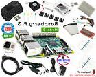 Raspberry Pi 3 Ultimate Starter Kit Wifi HDMI, Breadboard SD