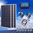 300 Watt Solar Panel Starter Kit 300W 12V Battery Charger RV