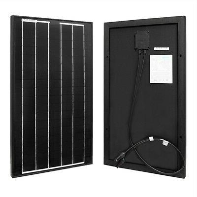 30w watts 30 watt monocrystalline solar panel