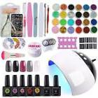 Coscelia 5 Colors Gel Nail Polish 10ml Starter Kit 24W LED N
