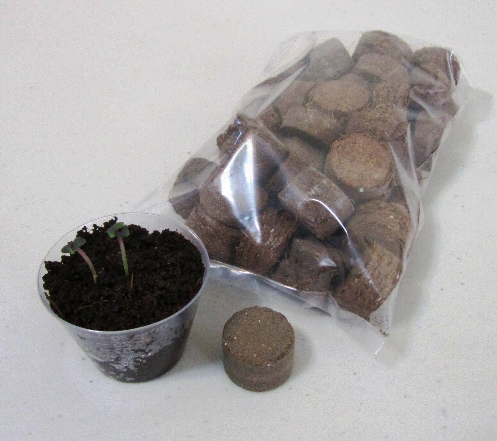50 Germination Pods or Soil
