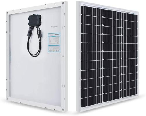 50 Monocrystalline Starter with 10A LCD Controller