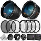 52MM Starter Accessory Kit for Nikon with Wide Angle + Telep