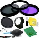 58MM STARTER ACCESSORY KIT FOR CANON EOS REBEL XT 7D T6 T6S