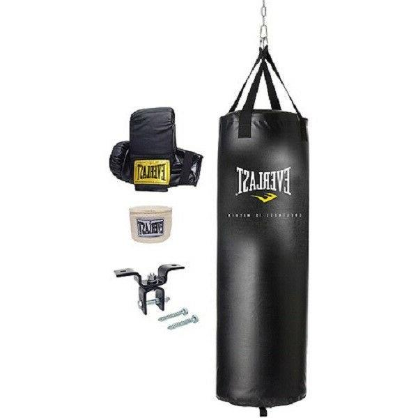70 lb heavy bag kit and 6