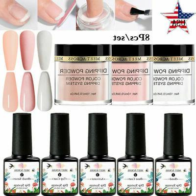 8 dipping powder nail dip system liquid