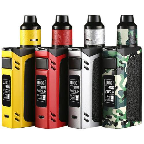 100W TC Full Vape-Box Starter Kit 2600mAh Battery mod +6ml