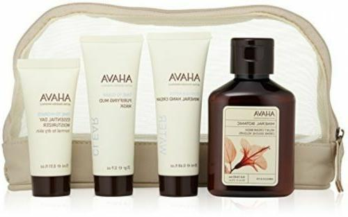 AHAVA Starter Kit 4 pieces Purifying Mud Mask/Day Moisturize