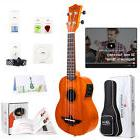 Aklot Electric Soprano Ukulele Starter Kit Ukelele Uke 21 in