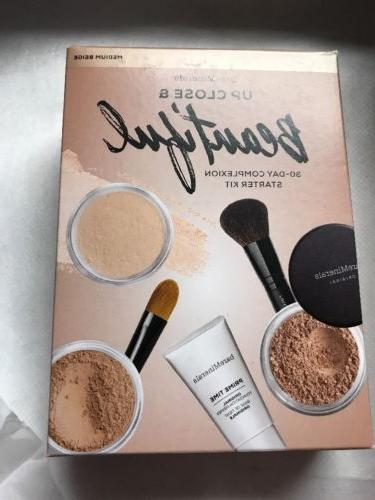 Bareminerals Up Close & Beautiful 30 Day Starter Kit  In Med