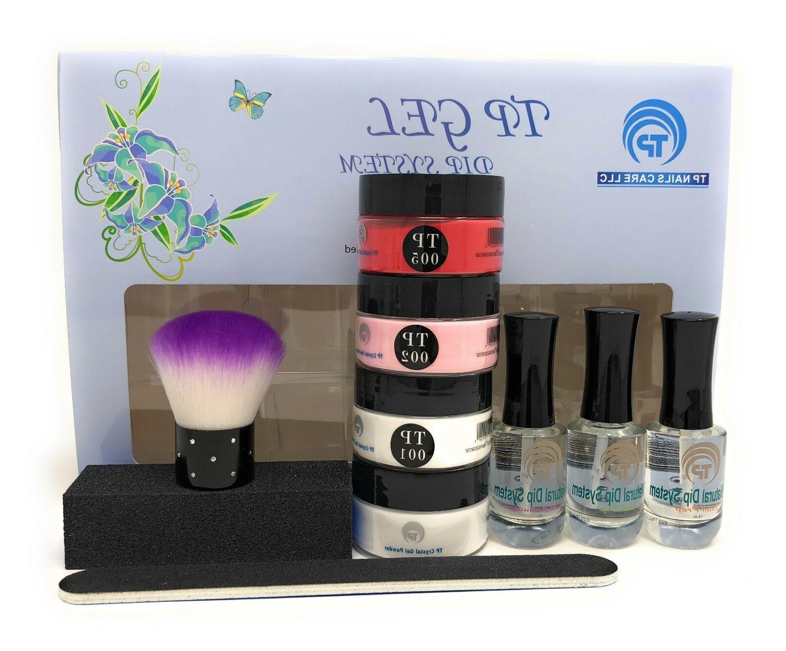 French Manicure Starter Kit plus tp05 Red , complete system.