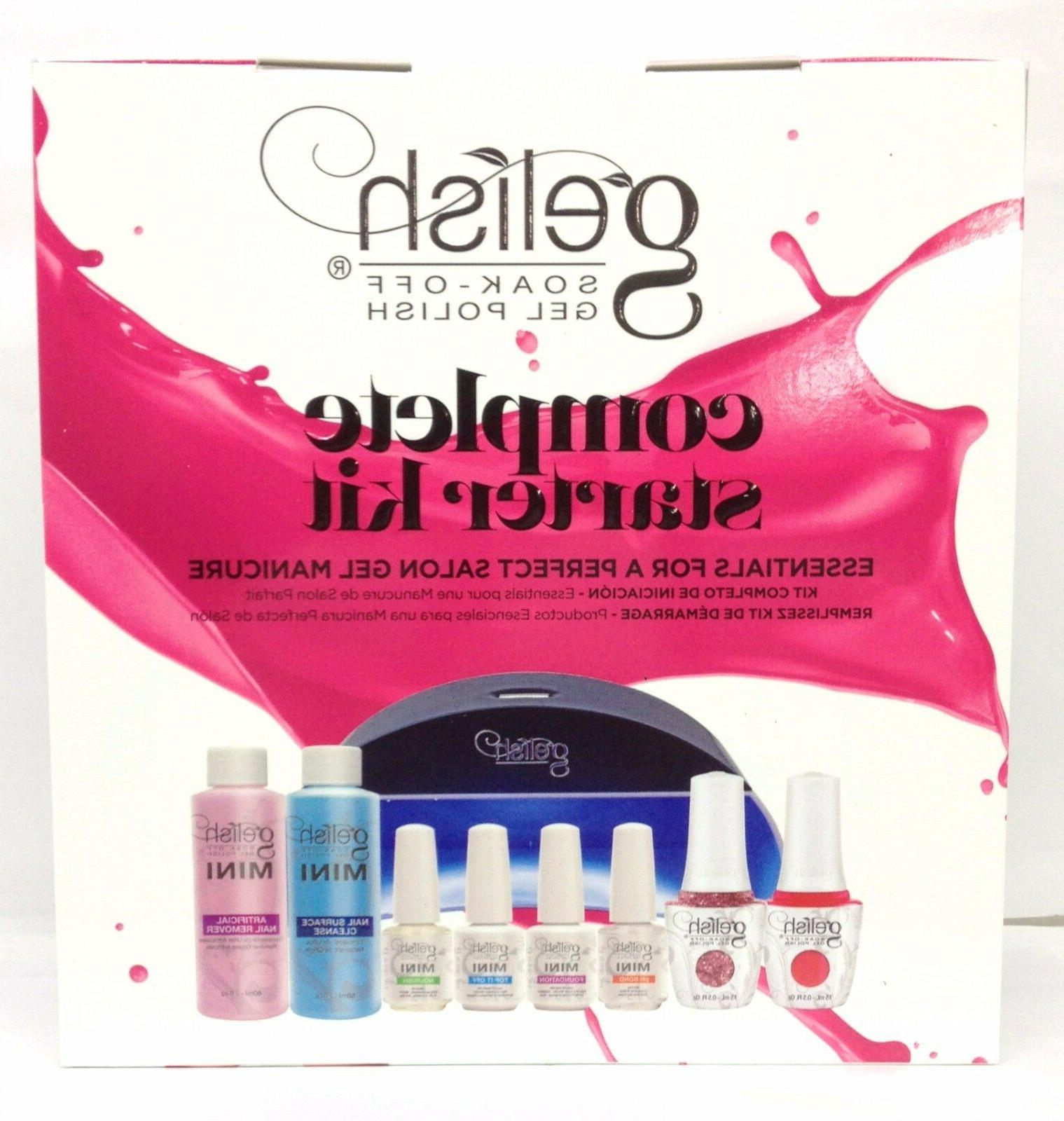 Harmony Gelish- COMPLETE STARTER KIT + Pick Any 2 Colors