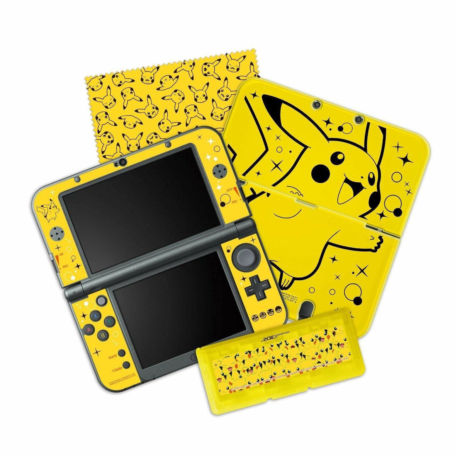 Hori - Pikachu Pack Starter Kit For New Nintendo 3ds Xl