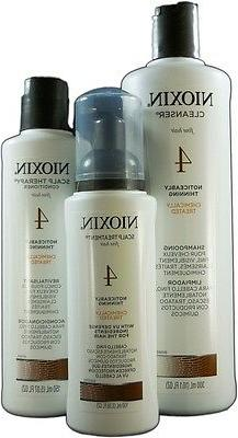 Nioxin System 4 Thinning System Kit Chemical Treated Set , S