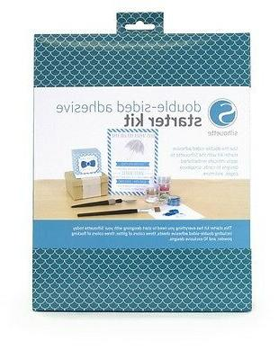 SILHOUETTE AMERICA  DOUBLE-SIDED ADHESIVE STARTER KIT