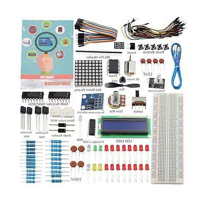 SunFounder Super Kit for Arduino UNO R3 Mega2560 with