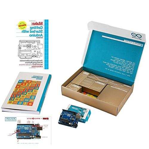 The Official Arduino Starter Kit Deluxe Bundle with Make: Ge