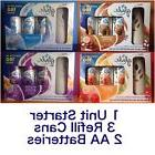 Glade Automatic Spray Starter Kit Air Freshener 1 Unit + 3 C