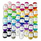 Mira Handcrafts Basic 40 Assorted Colors Acrylic Yarn Skeins