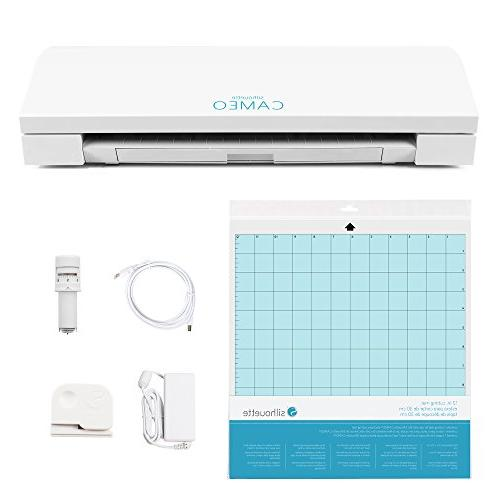Silhouette CAMEO Bluetooth Starter Bundle Inch Oracal Vinyl Transfer Guide, and More