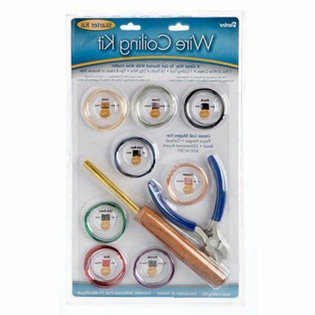 craft wire coiling starter kit