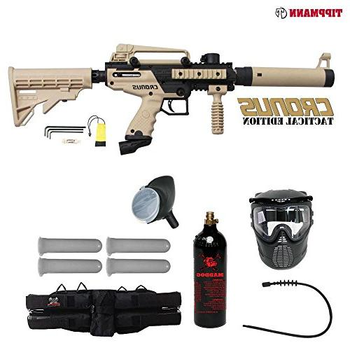cronus tactical silver paintball gun