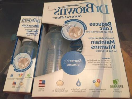 dr browns natural flow bottle starter kit