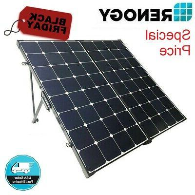 eclipse 200w 12v mono solar panel suitcase