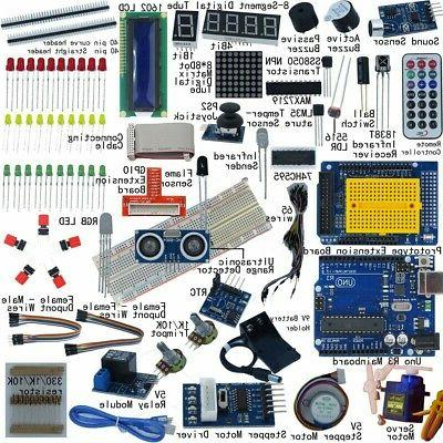 electronic project starter kit beginners uno r3