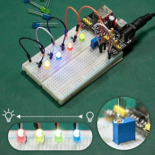 Electronics Starter Kit W/ Breadboard Basic Making