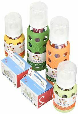 Lifefactory 4 Pack Kit Colored