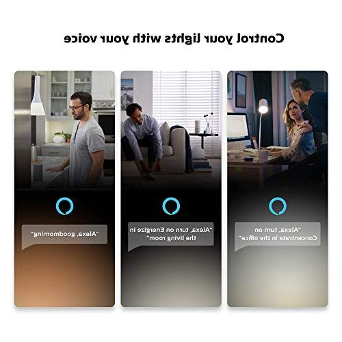 Philips 2-Pack Premium Smart Light Kit, 16 most lamps lights, Alexa, Apple and Assistant