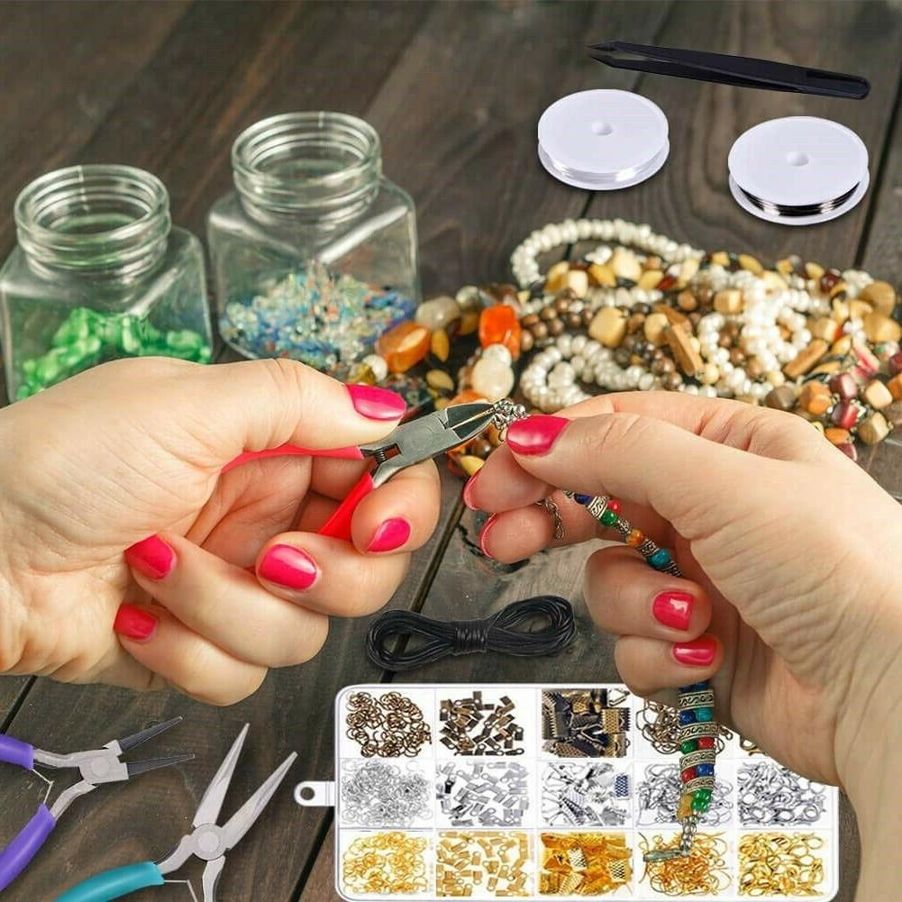 Jewelry Making Set Supplies Pliers