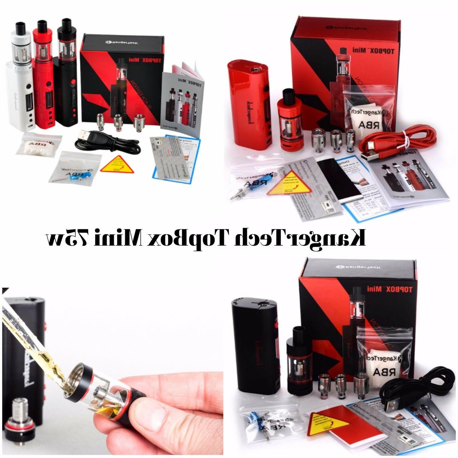 KangrTeh Starter Mini Subox - Topbox Mini 75w Subtank w/Battery