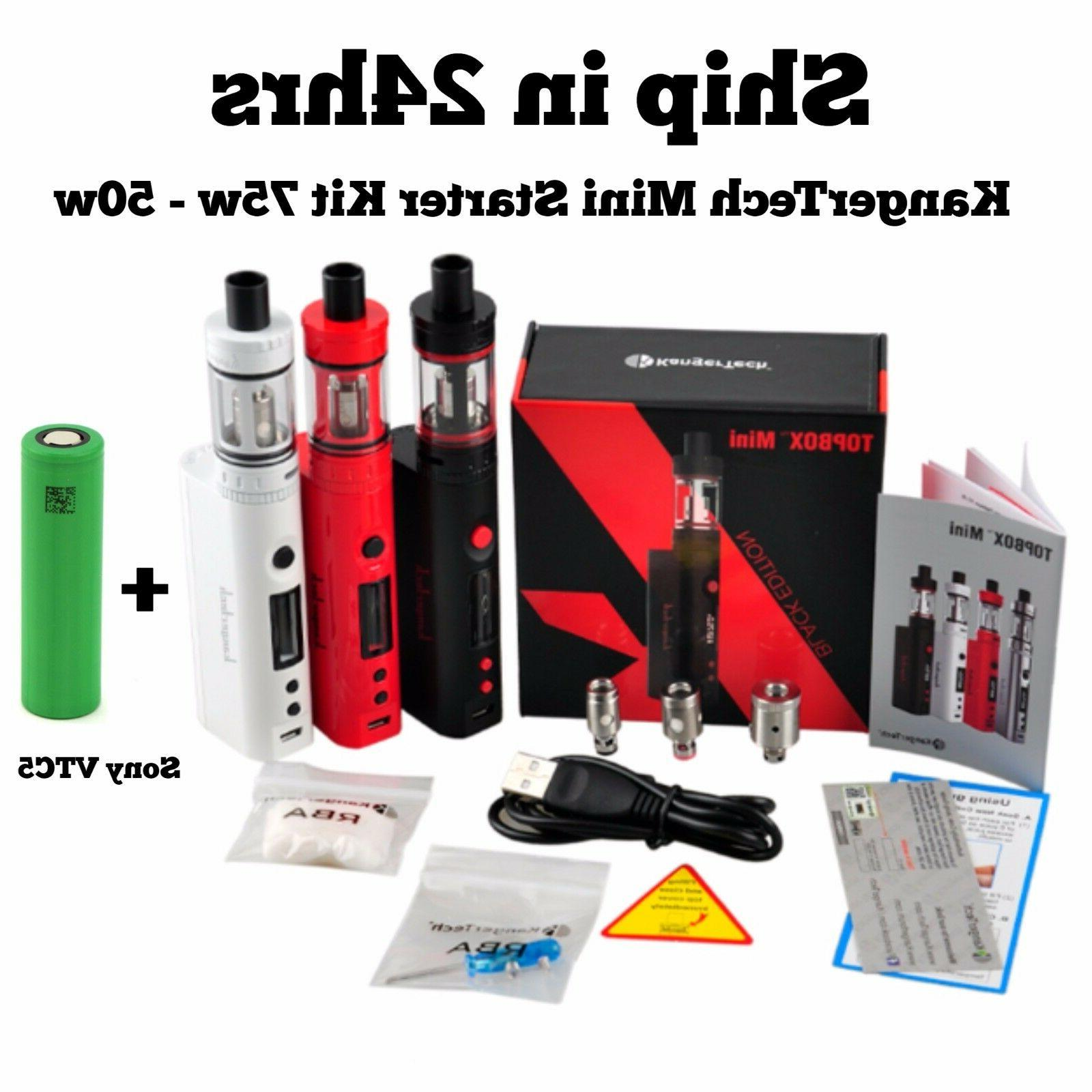 kangrteh starter kit mini subox 50w topbox