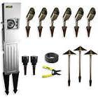 landscape lighting starter kit 9 light hardwire