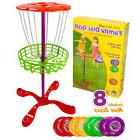 K-Roo Sports Little Flyers Family Disc Golf Frisbee Golf Set