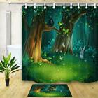 Magic Forest Glade Shower Curtains for Bathroom Waterproof P