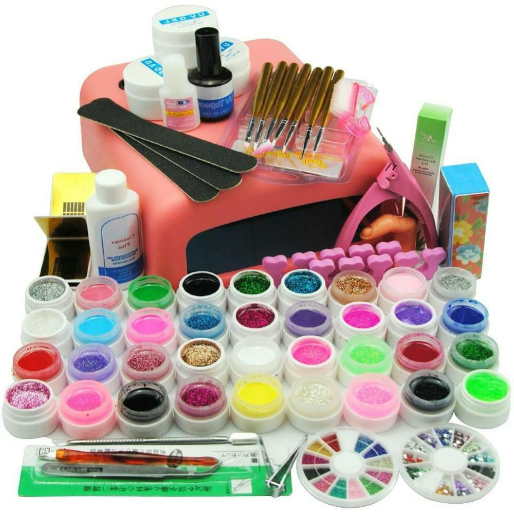 Manicure Pedicure Nail Art Sets Professional Starter Pack Na